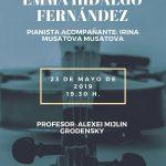 Recital de violín: Emma Hidalgo Fernández