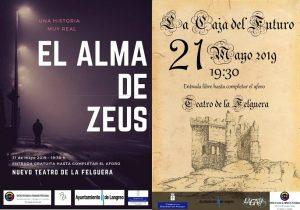 Teatro: El alma de Zeus y La caja del futuro @ Nuevo Teatro de La Felguera