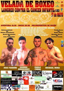 Velada de boxeo contra el cáncer infantil @ Polideportivo de Riaño