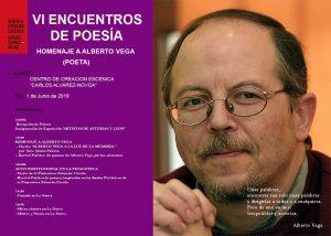 """VI Encuentro de Poesía (Poetas de Asturias y León) - Homenaje a Alberto Vega @ Centro de Creación Escénica """"Carlos Álvarez-Nòvoa"""""""