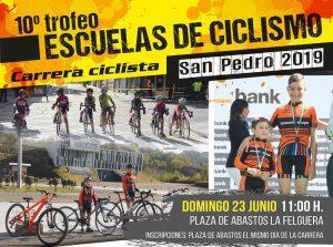 10º Trofeo Escuelas de ciclismo San Pedro 2019 @ Plaza de Abastos de La Felguera