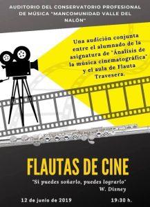 Audición: Flautas de cine @ Conservatorio del Nalón