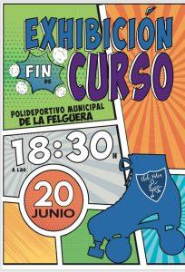 Exhibición de patinaje fin de curso @ Polideportivo de La Felguera