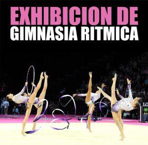 Exhibición fin de curso Gimnasia Rítmica Club Ares @ Polideportivo Municipal de Sama