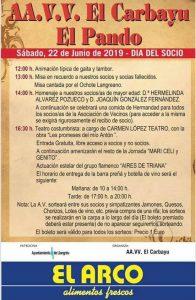 Fiestas A.VV. El Carbayu - El Pando 2019 @ El Carbayu