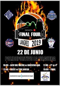 Final Four de baloncesto infantil @ Polideportivo Municipal de La Felguera