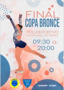 Final II Copa Bronce de patinaje artístico @ Polideportivo municipal de Riaño