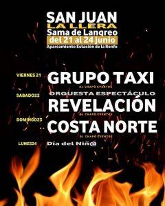 Fiestas de San Juan 2019 en Sama y I Festival de la cerveza