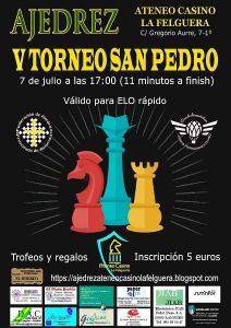 V Torneo de Ajedrez San Pedro @ Ateneo Casino de La Felguera