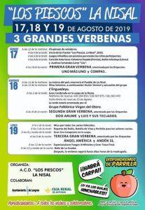 """Fiestas de """"Los Piescos"""" La Nisal 2019 @ La Nisal"""