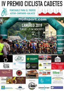 IV Premio ciclistas cadetes Langreo 2019 @ Tuilla
