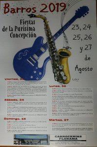 Fiestas de la Purísima Concepción en Barros - Langreo 2019 @ Barros