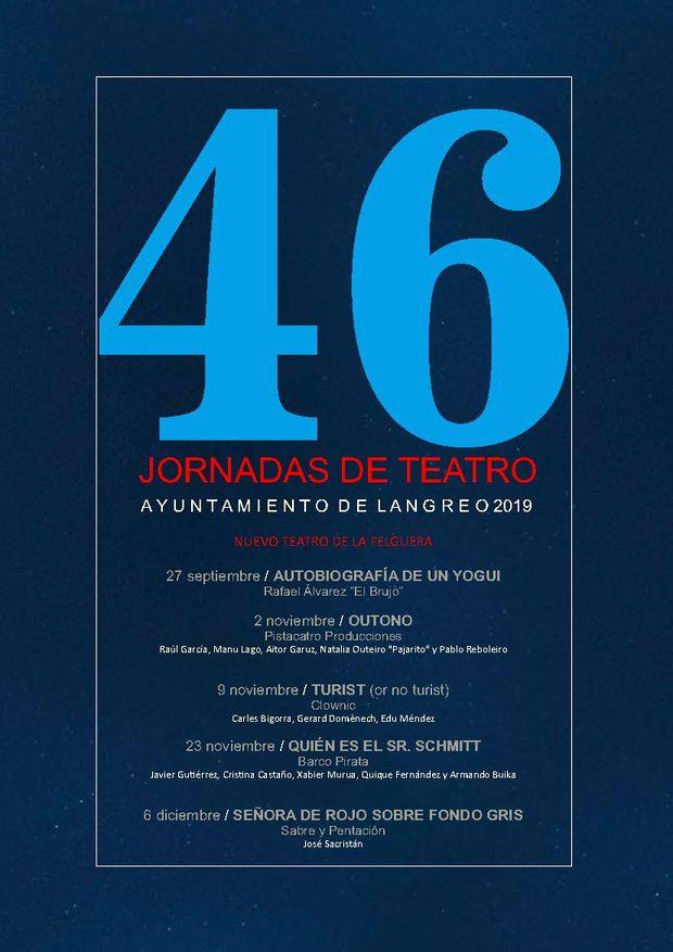 46as jornadas de teatro de langreo
