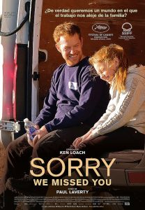 Cine: Sorry we missed you