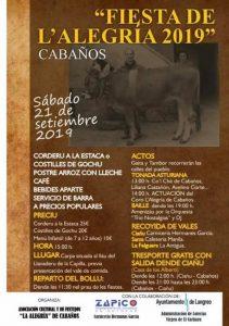Fiesta de L'Alegría - Cabaños 2019