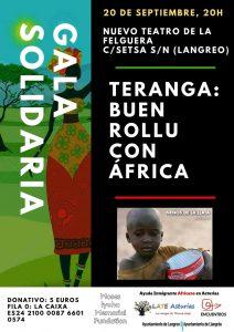 Gala Solidaria: Teranga, buen rollu con África @ Nuevo Teatro de La Felguera