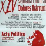 XIV Semana Cultural Dolores Ibárruri