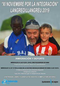 Noviembre por la integración 2019 @ Cine Felgueroso y Escuelas Dorado
