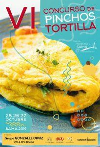 VI Concurso de Pinchos de Tortilla en Sama @ Establecimientos hostelería de Sama