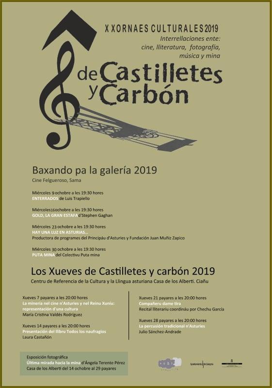 X Xornaes Culturales de Castilletes y Carbón 2019