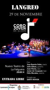 Concierto: Coro joven de Gijón @ Nuevo Teatro de La Felguera