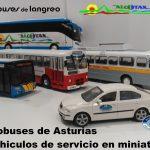 Exposición: Autobuses de Asturias en minuatura