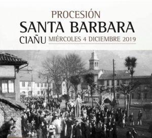 Procesión de Santa Bárbara @ Ciaño