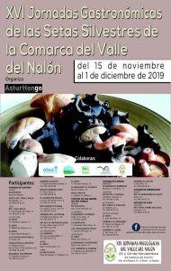 XIX Jornadas de las Setas Silvestres del Valle del Nalón @ Langreo