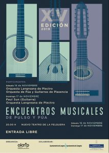 XV Encuentros Musicales de Pulso y Púa @ Nuevo Teatro de La Felguera