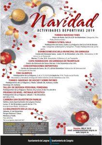 Actividades deportivas Navidad 2019 - Langreo @ Langreo, varias ubicaciones