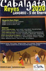 Cabalgata de Reyes 2020 en Langreo @ Langreo