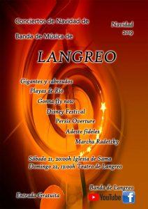 Concierto de Navidad: Banda de Música de Langreo @ Nuevo Teatro de La Felguera
