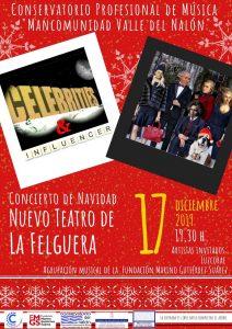 Concierto de Navidad del alumnado del Conservatorio del Nalón @ Nuevo Teatro de La Felguera