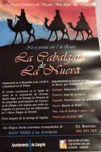 Cabalgata de Reyes 2020 en La Nueva @ La Nueva