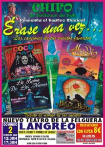 Musical: Érase una vez... @ Nuevo Teatro de La Felguera