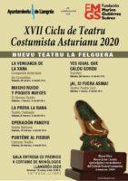 Ciclo de teatro costumbrista asturiano Langreo 2020