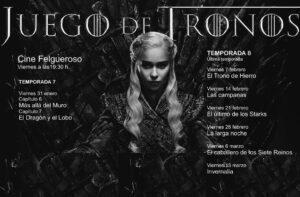 La serie Juego de Tronos @ Cine Felgueroso