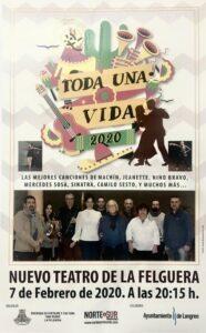 Concierto: Toda una vida @ Nuevo Teatro de La Felguera