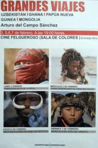 Exposición fotográfica: Grandes Viajes @ Cine Felgueroso