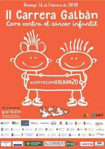 II Carrera Galbán contra el cáncer infantil @ Langreo