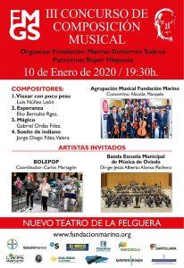 Final del III Concurso de composición musical @ Nuevo Teatro de La Felguera