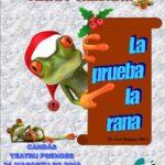 Teatro: La prueba la rana