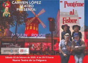 Teatro: Punteme al fisbur @ Nuevo Teatro de La Felguera