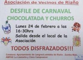 Carnaval en Riaño 2020