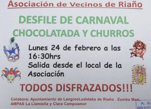 Carnaval en Riaño 2020 @ Riaño, Langreo