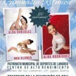 Exhibición de invierno del Club Rítmica Ares