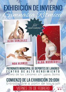 Exhibición de invierno del Club Rítmica Ares @ Polideportivo Los Llerones