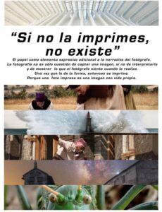 Exposición fotográfica: Si no la imprimes, no existe @ Casa de los Alberti