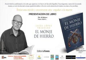"""Presentación de libro: El monje de hierro @ Centro de creación escénica """"Carlos Álvarez-Nòvoa"""""""