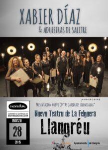 Concierto: Xabier Díaz & Adufeiras de Salitre @ Nuevo Teatro de La Felguera